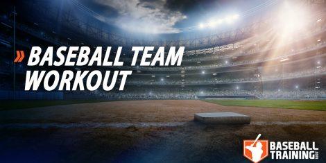 Baseball Team Workout