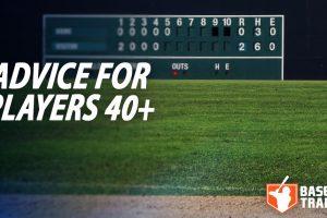 Baseball Training For Older Players