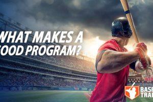 Good Baseball Training Program