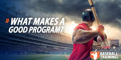 Good Baseball Training Program